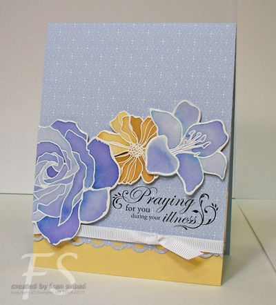 stampersblog: Fifth Avenue Floral Get Well  love the colors