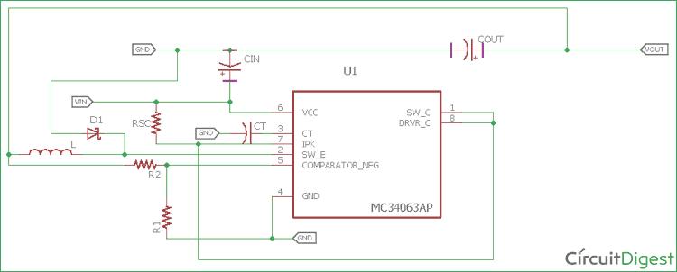 Astounding Buck Converter 1 Watt White Led Driver Super Circuit Diagram Wiring Database Numdin4X4Andersnl