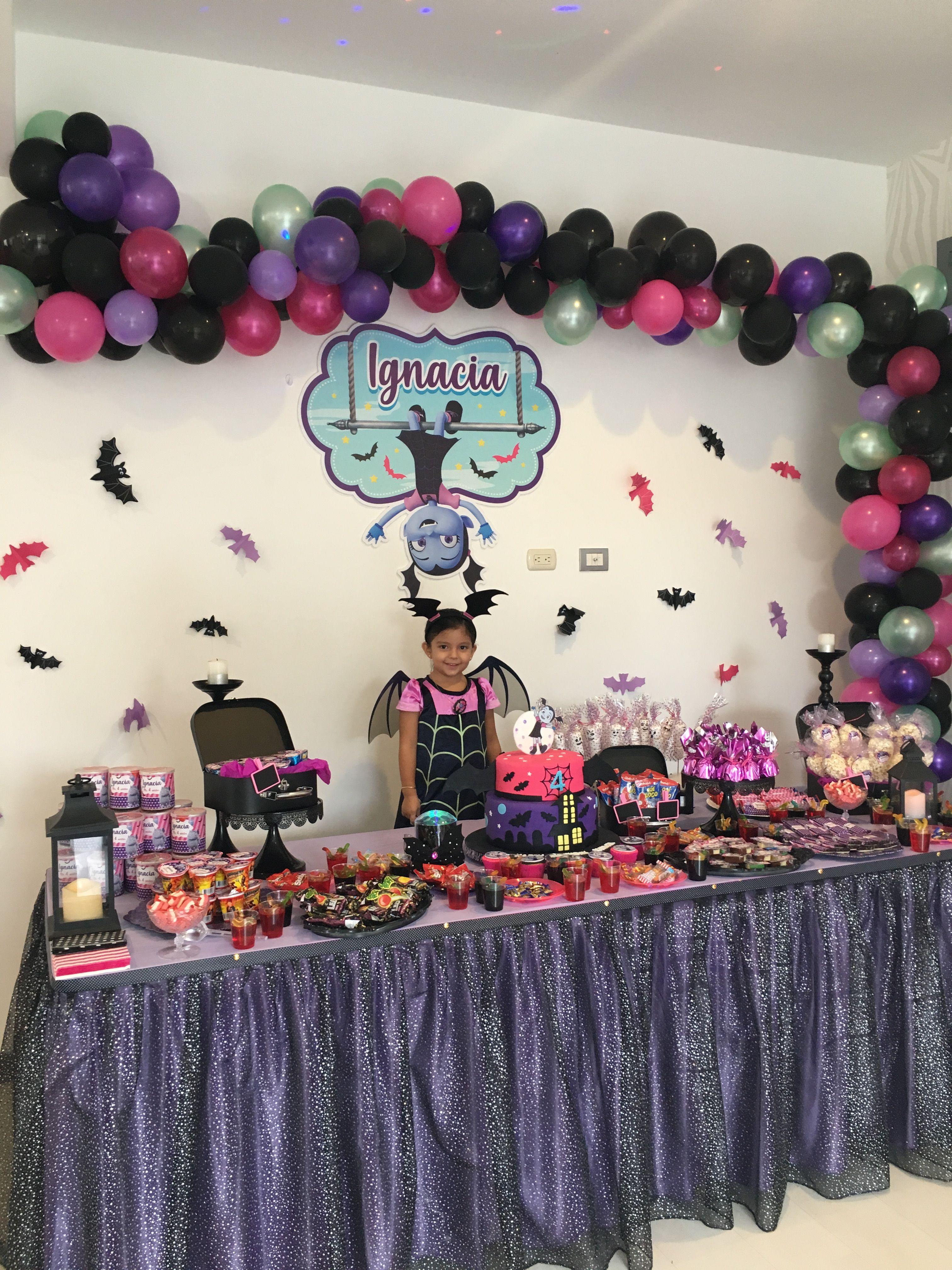 Vampirina Halloween Party 2020 Ny Decoración Vampirina | Birthday parties, Birthday, Party