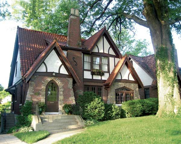 Old Fashioned Houses an old-fashioned world: old house styles: tudor revival cottage