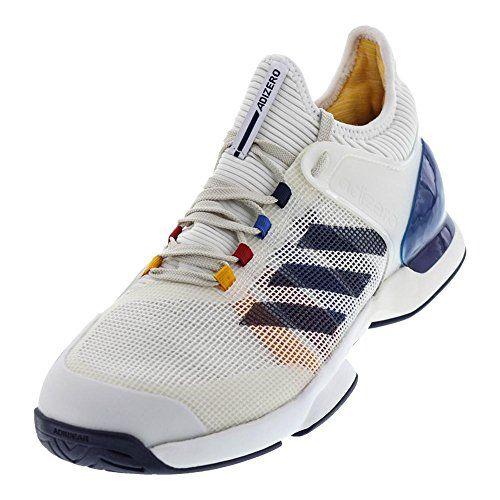 b9ef73ca0 ADIDAS Mens Adizero Ubersonic 2 Pharrell Williams Tennis Shoes White and  Dark Blue CG3086F17 -- Click for Special Deals  AdidasFashion
