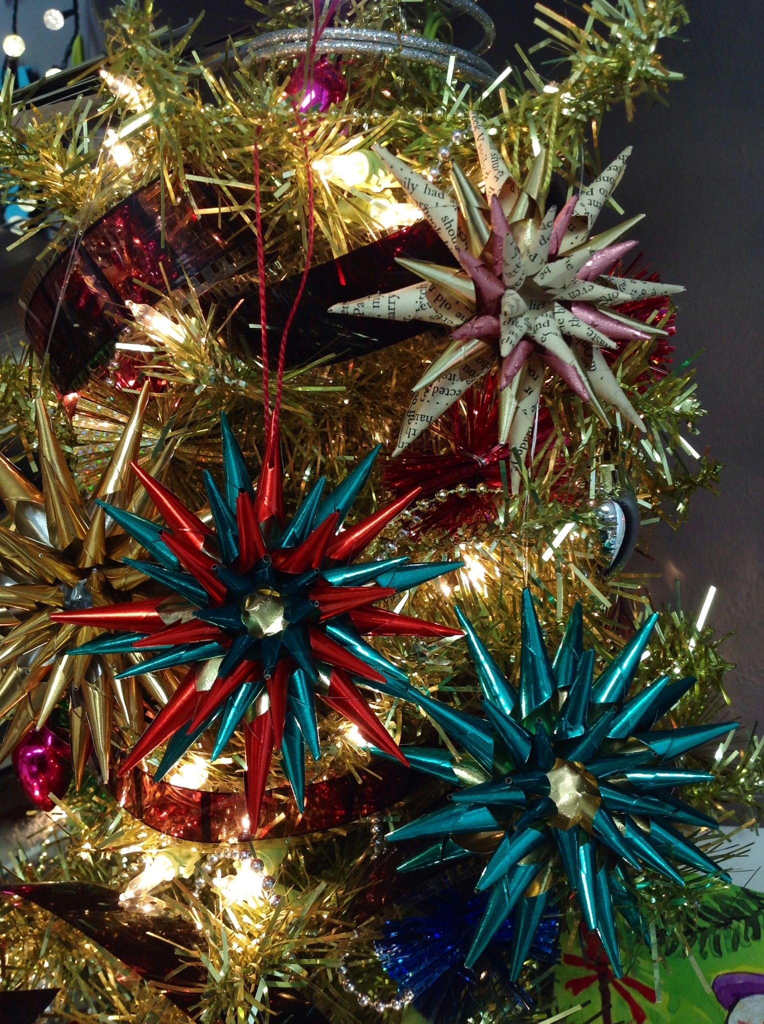 German Christmas Decorations To Make Part - 33: How To Make A German Christmas Star