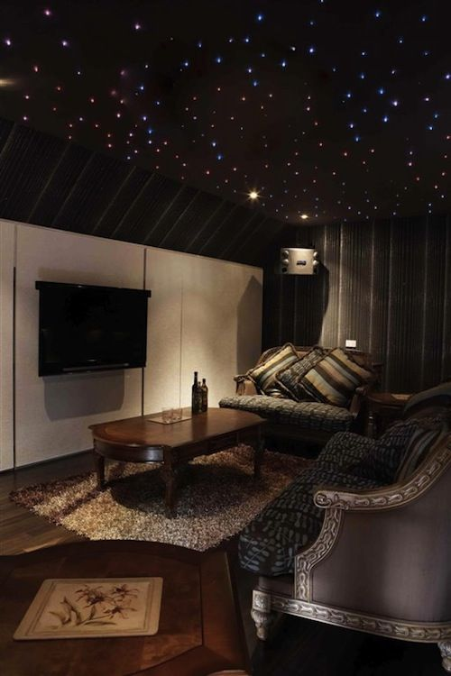 Entertainment Room With Stars Entertainment Room Room Home