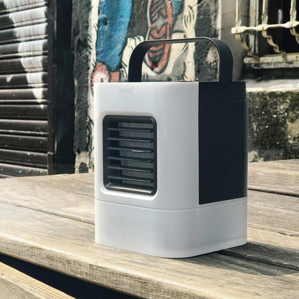SLandLFJ Mini portable miniature air cooler Mini fan