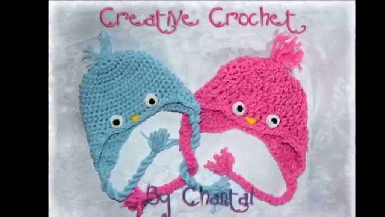 baby bird crochet hat