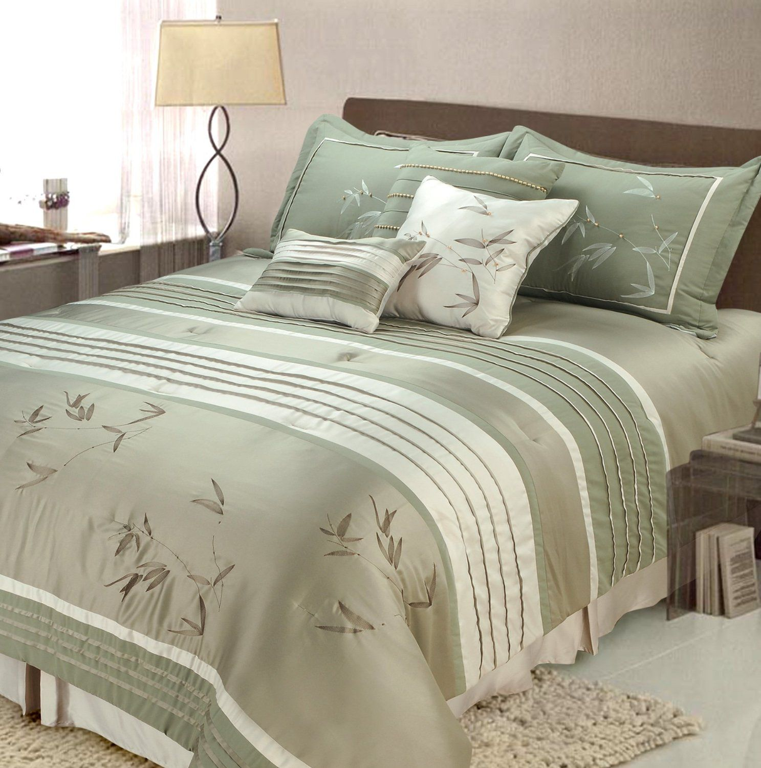 Green bedding set - Bedroom Ideas For Green Bedding Comforter Sets Bedroom Decor Ideas And Green Bedroom Comforter Sets