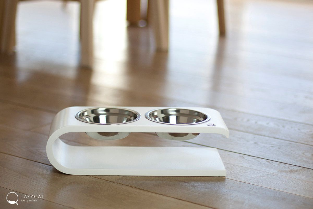 Modern Pet Feeders From Lazycat Pet Feeder Modern Pet Cat Bowls