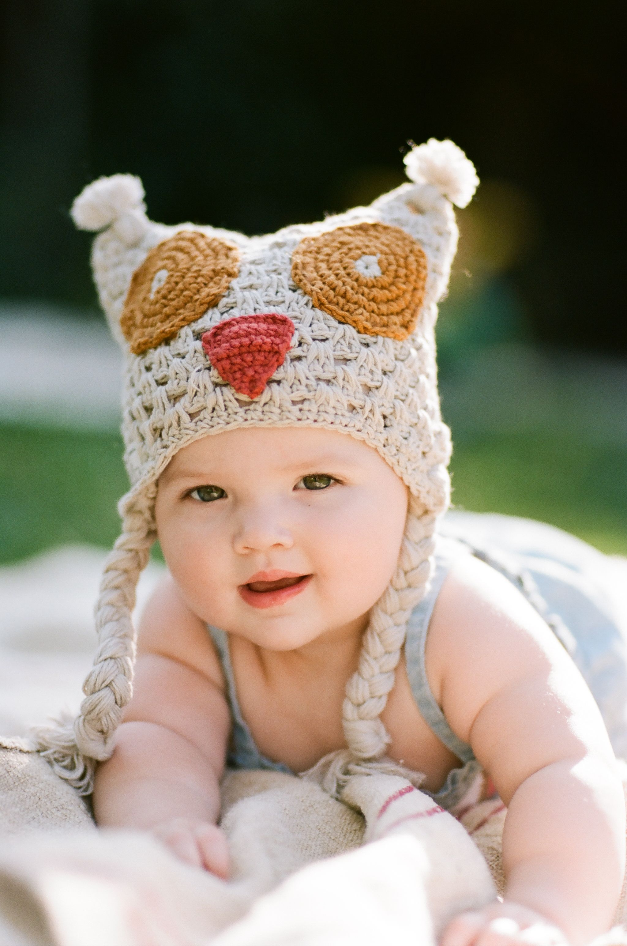 Krochet Kids intl Hoot Hat Kids