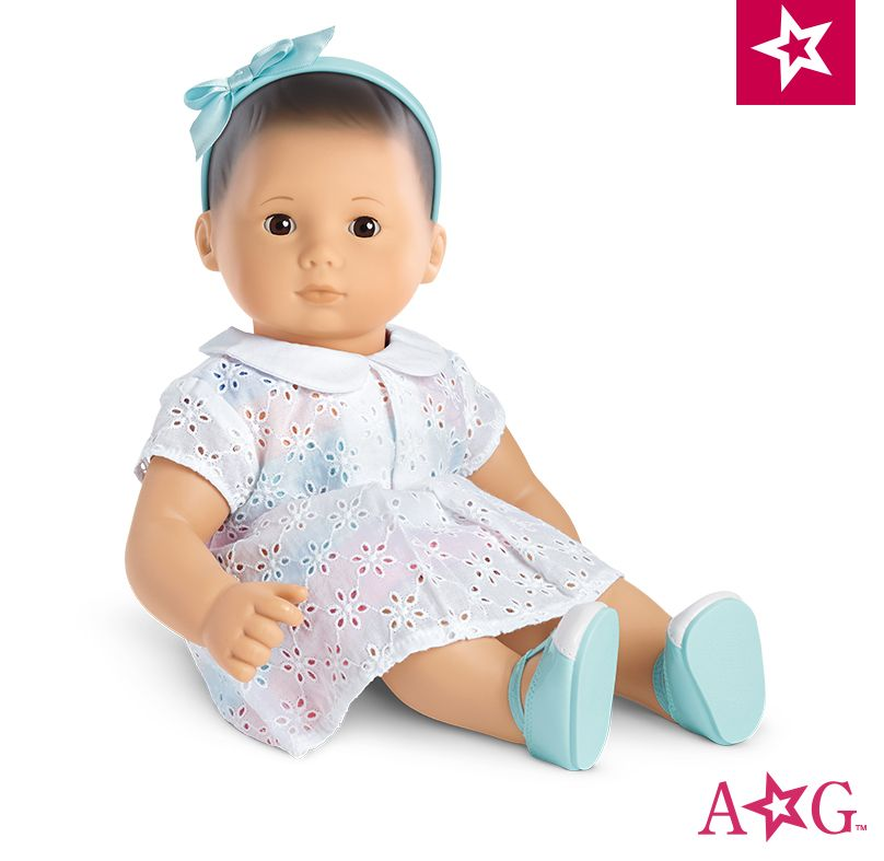 American Girl Doll Bitty Baby Sweet Sprinkles Birthday Dress Outfit Skirt Toys