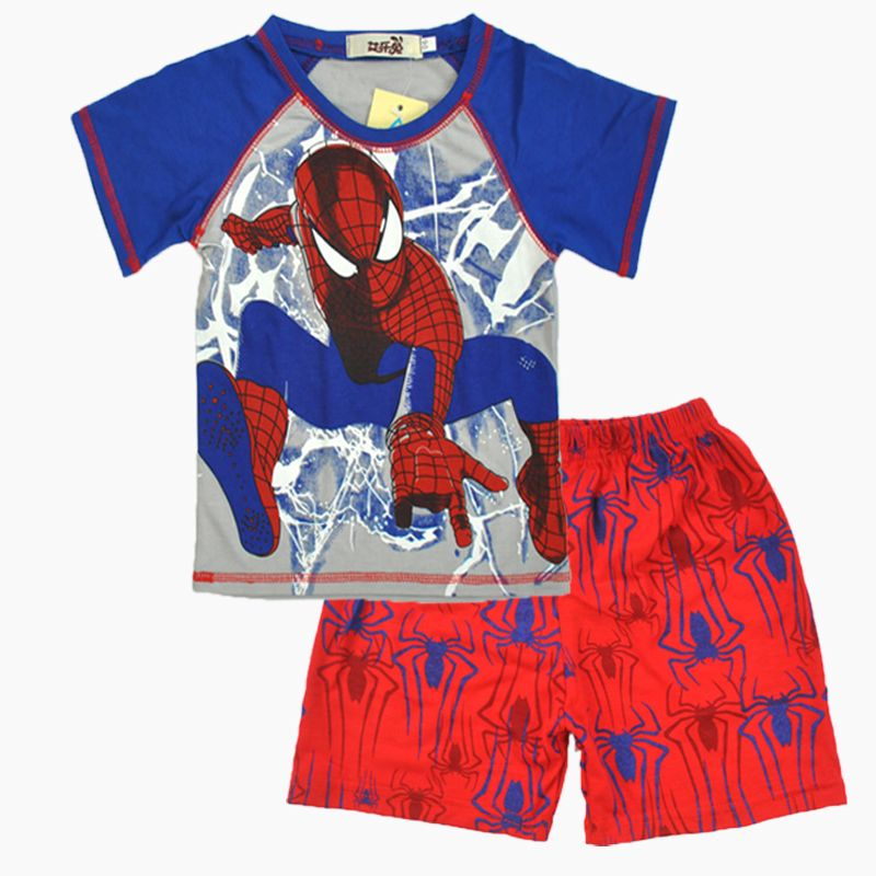 $4.70 (Buy here: https://alitems.com/g/1e8d114494ebda23ff8b16525dc3e8/?i=5&ulp=https%3A%2F%2Fwww.aliexpress.com%2Fitem%2FCartoon-suit-children-boys-summer-T-shirt-shorts-pants-leisure-set-home-comfortable-100-cotton-kids%2F32799560108.html ) Cartoon suit children boys summer T-shirt + shorts pants leisure set home comfortable 100% cotton kids clothes free shipping for just $4.70