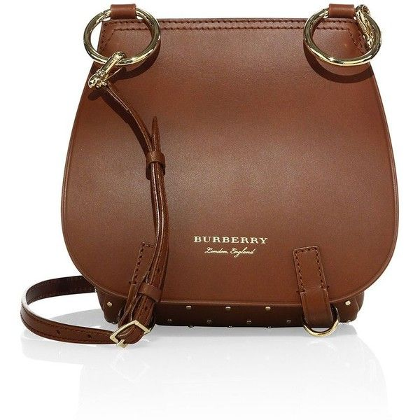 4758ecd75221 Burberry Bridle Riveted Leather Saddle Bag ( 2