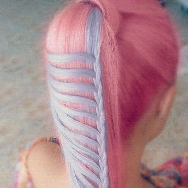Awesome braiding and color choices!