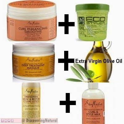 3 SheaMoisture HACKS that will save your natural hair Read how to mix them: http://discoveringnatural.blogspot.com/2015/01/3-sheamoisture-hacks-that-will-save.html