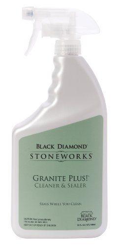 Black Diamond Granite Plus Cleaner And Sealer In One 2 32oz