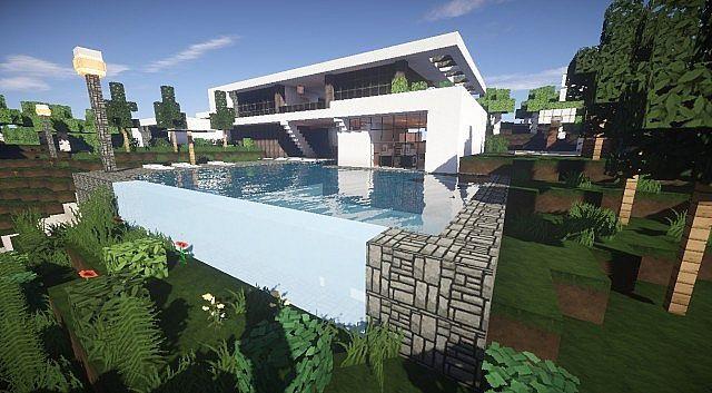 Aspire Modern Beach House 2 Minecraft Modern Building Ideas 5