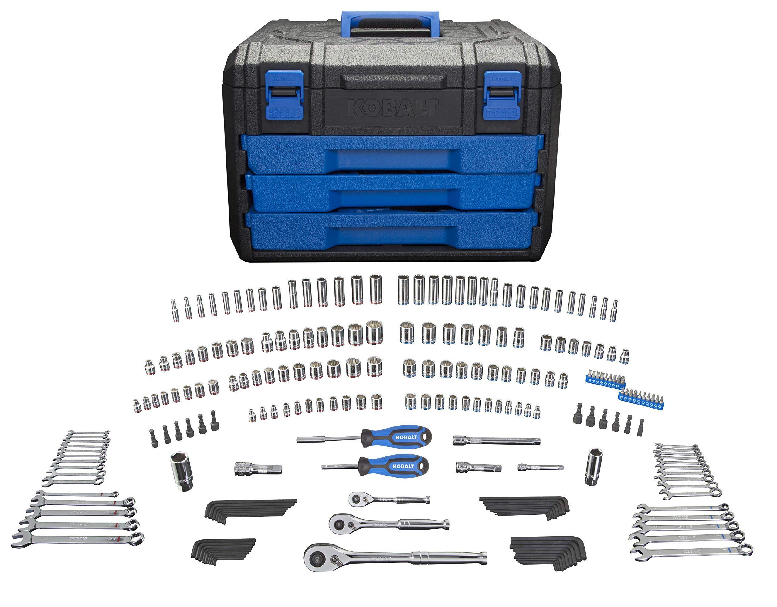 Kobalt 227 Piece Standard Metric Mechanics Tool Set With Case 86756 Ad Standard Sponsored Metric Piece K Mechanics Tool Set Mechanic Tools Irvington