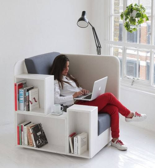 Perfect Small Space Reading Chair Library Chair Furniture Cool