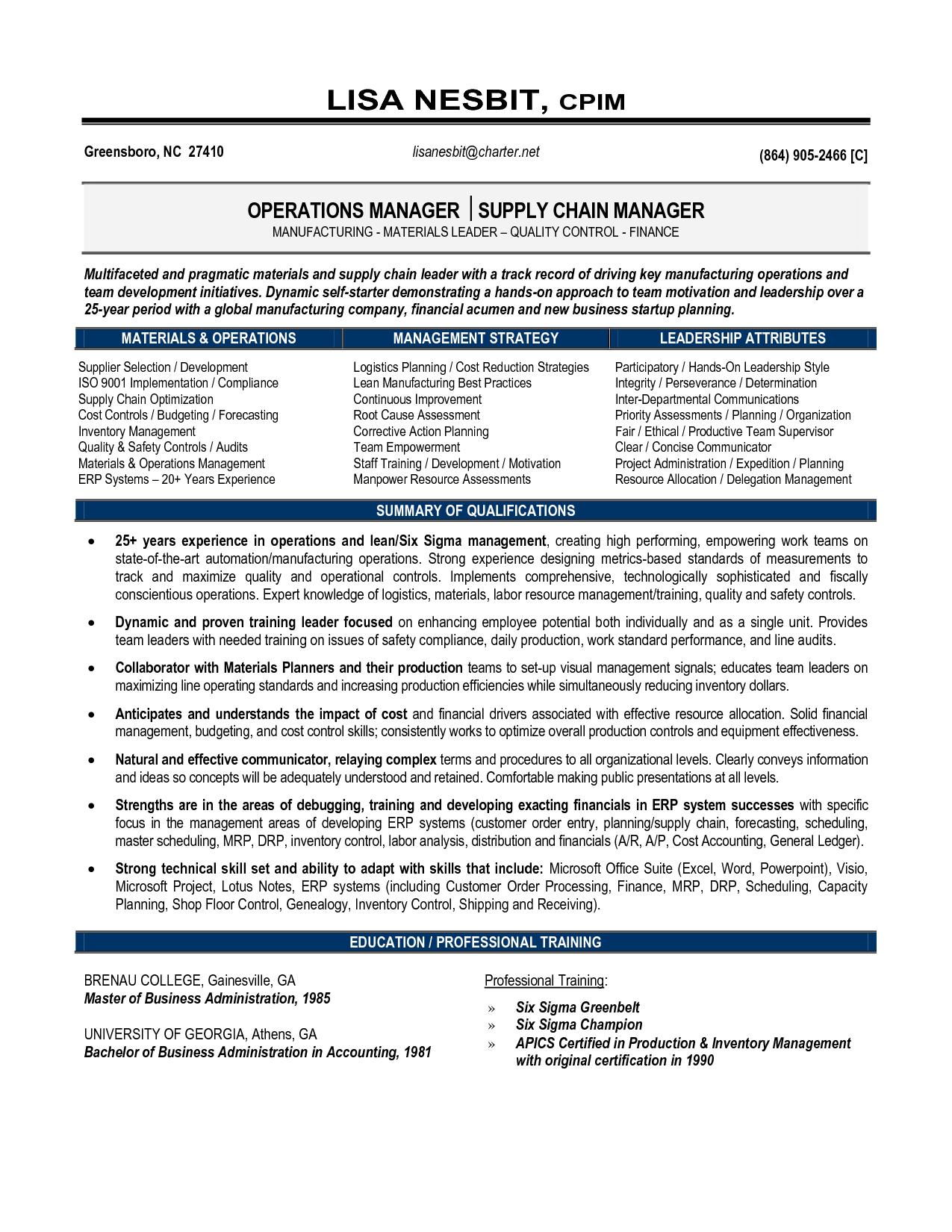 transportation expert resume samples