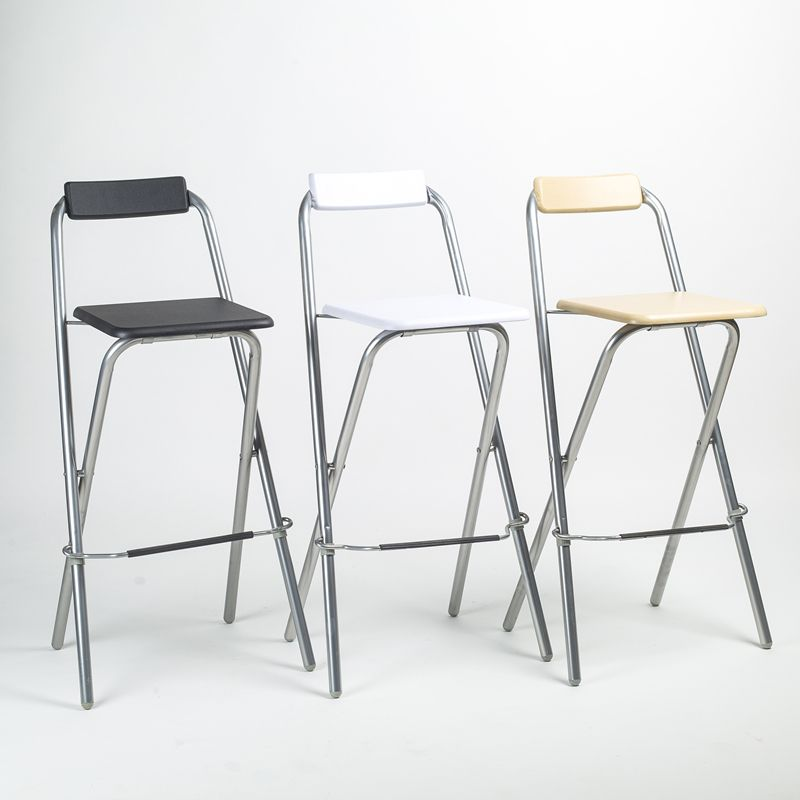 Bar Chair Steel Folding Chairs FREE SHIPPING In Metal Chairs From