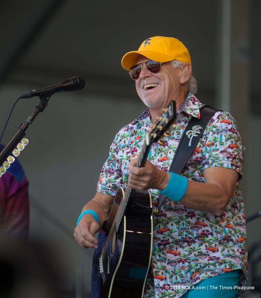 Jimmy Buffett Churns Out A Crowd Pleaser At Jazz Fest