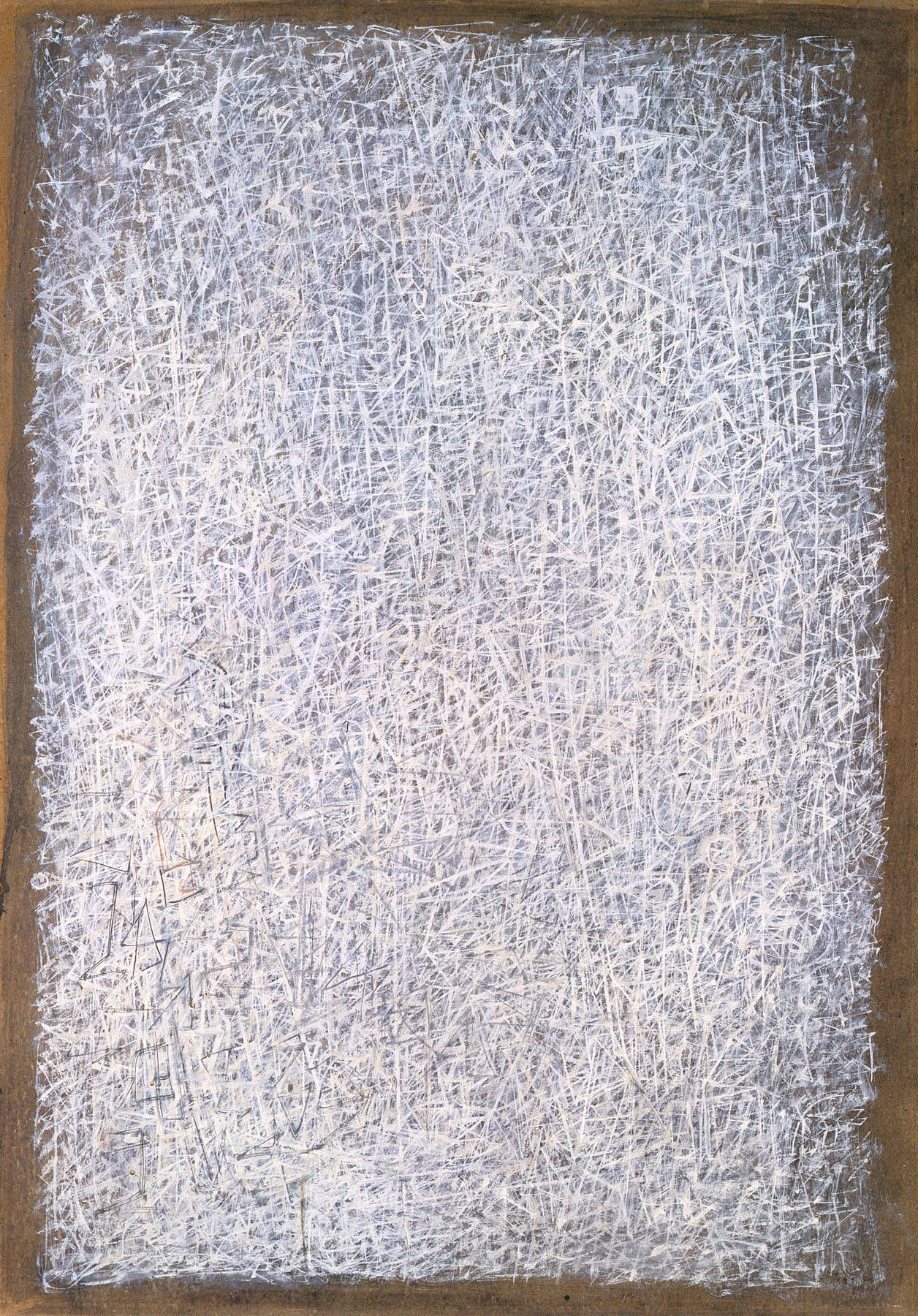 Mark Tobey,1957  Sumi Ink on Paper