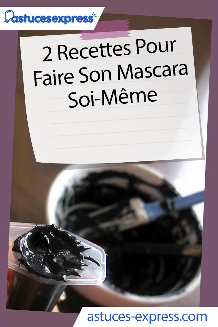 Recette de mascara
