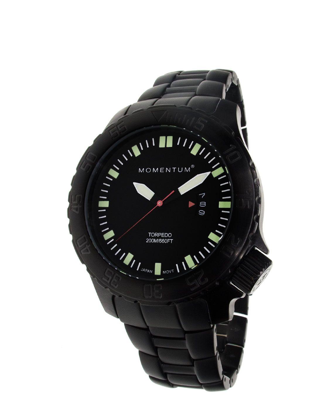 Torpedo Black-ion Steel  Watches Momentum
