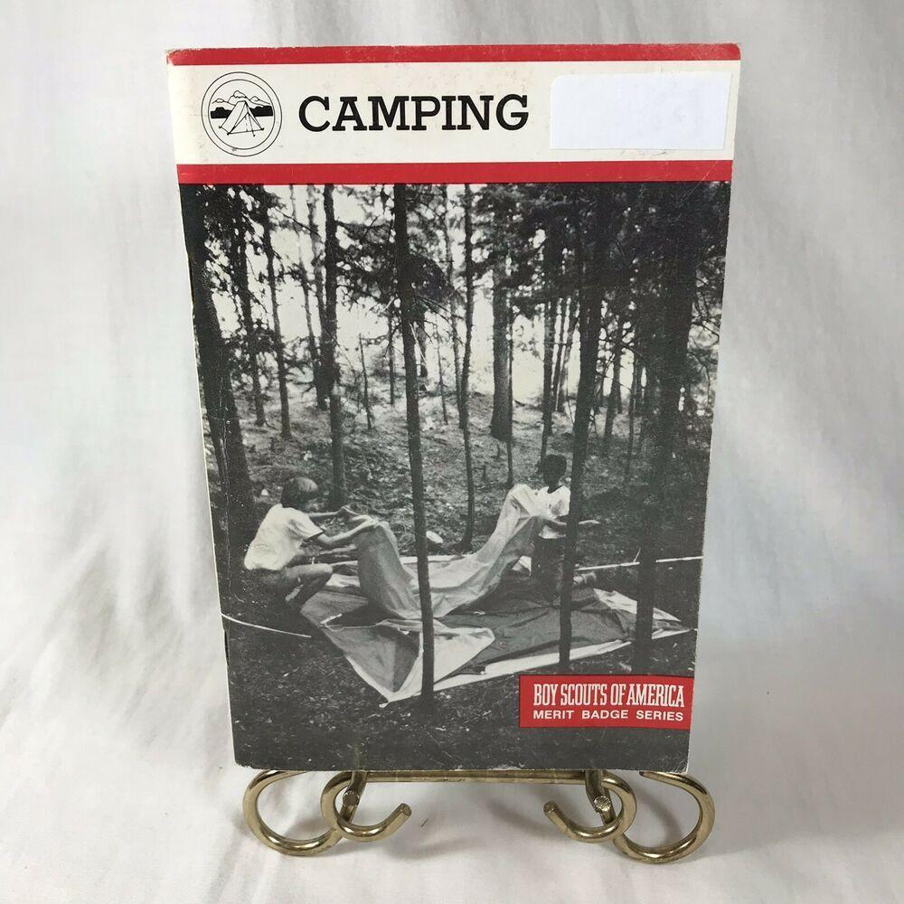 BSA Boy Scouts of America Merit Badge Series Book Camping