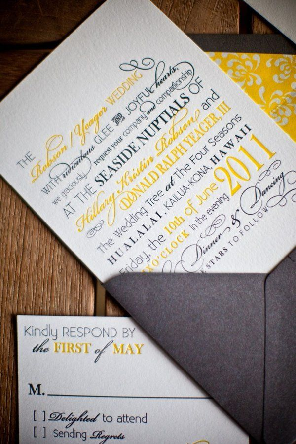 how to address wedding invites%0A invitation LOVE the look of this  different colors obv   Liz Mester Rotz