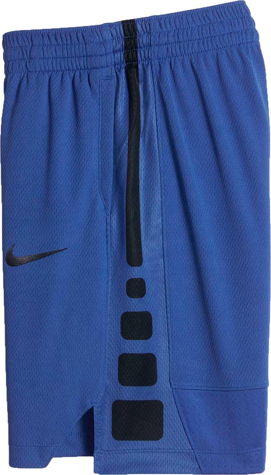 Nike Boys Dry Elite Stripe Basketball Shorts Size Medium Blue Basketball Shorts Elite Shorts Shorts