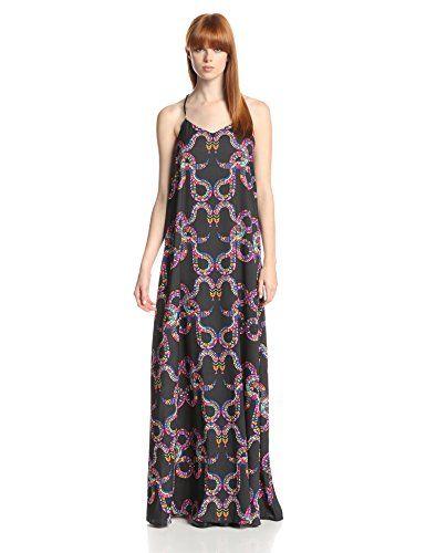 Mara Hoffman Women's Silk Racerback Camisole Maxi Dress