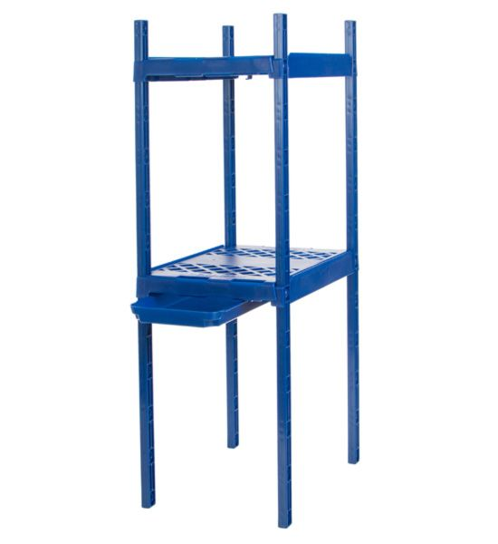 Its Academic Adjustable Double Locker Shelf Blue