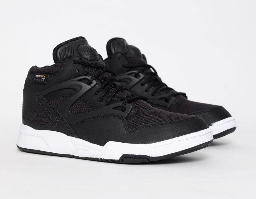 f5af4d384a1 Reebok  Pump Omni Lite Cordura Black  Sneakers