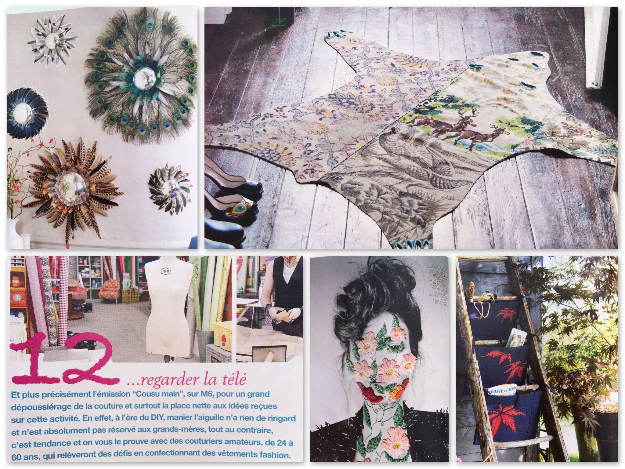 Love le tapis ours en patchwork ! mci 104