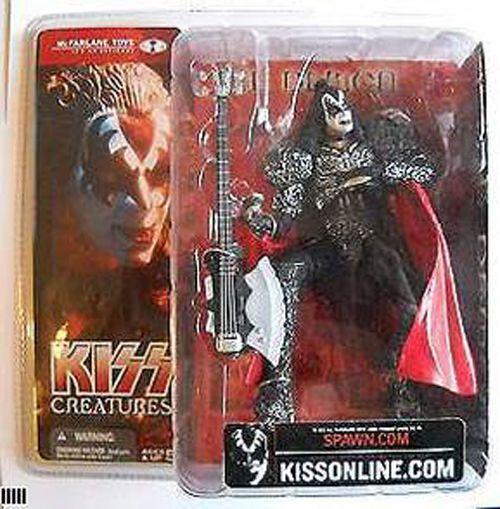 Mcfarlane Kiss Gene Simmons The Demon Action Figure Creatures Doll