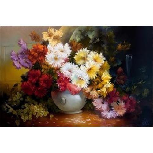 digitale fiore diy arrabbiare 40 50 pittura pittura acrilica dai corredi di numeri dono unico di