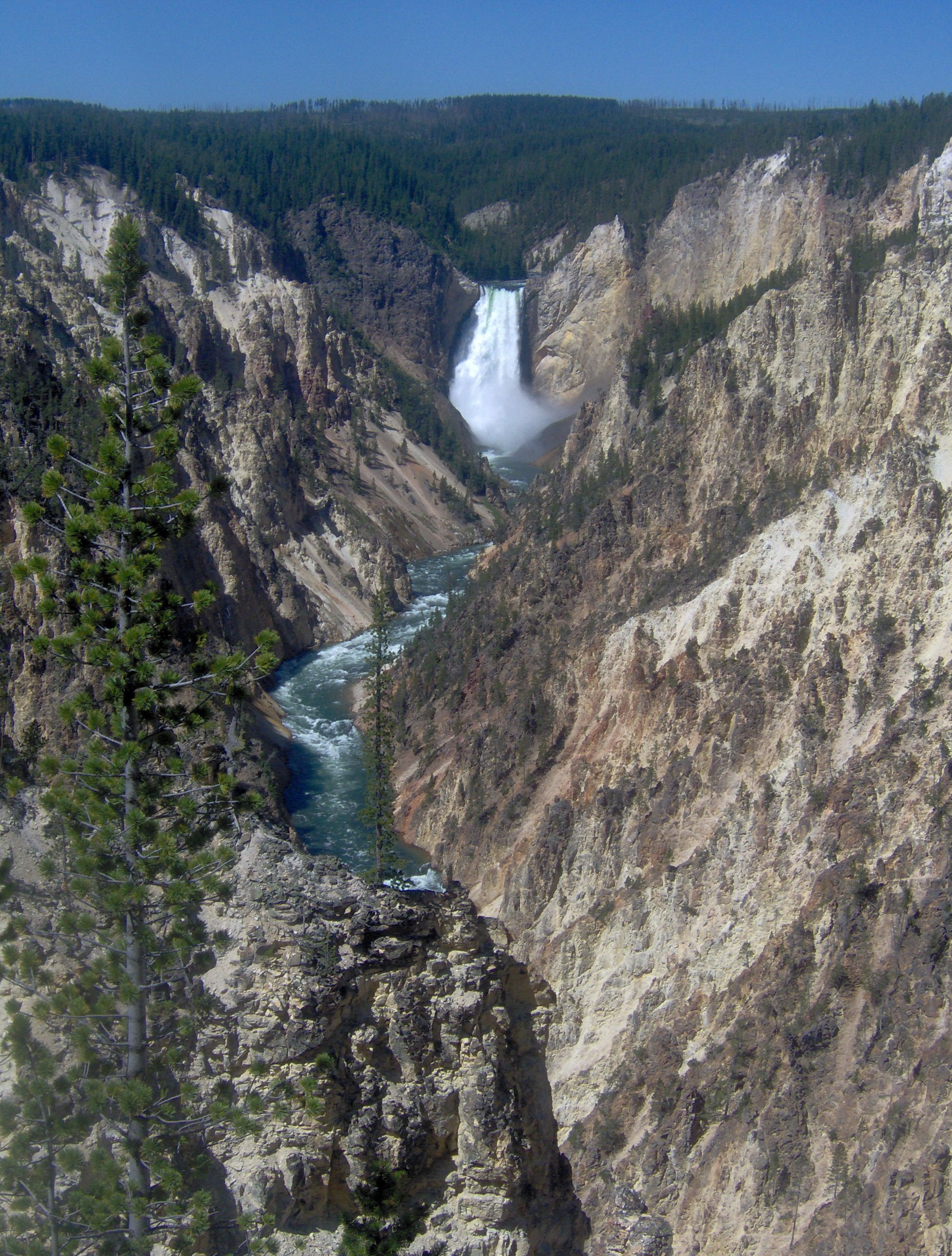 Artist Point Yellowstone National Park Yellowstone