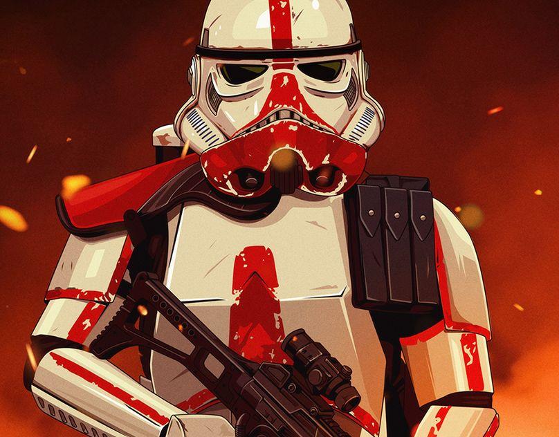 Star Wars Trooper Portraits on Behance in 2020 Star