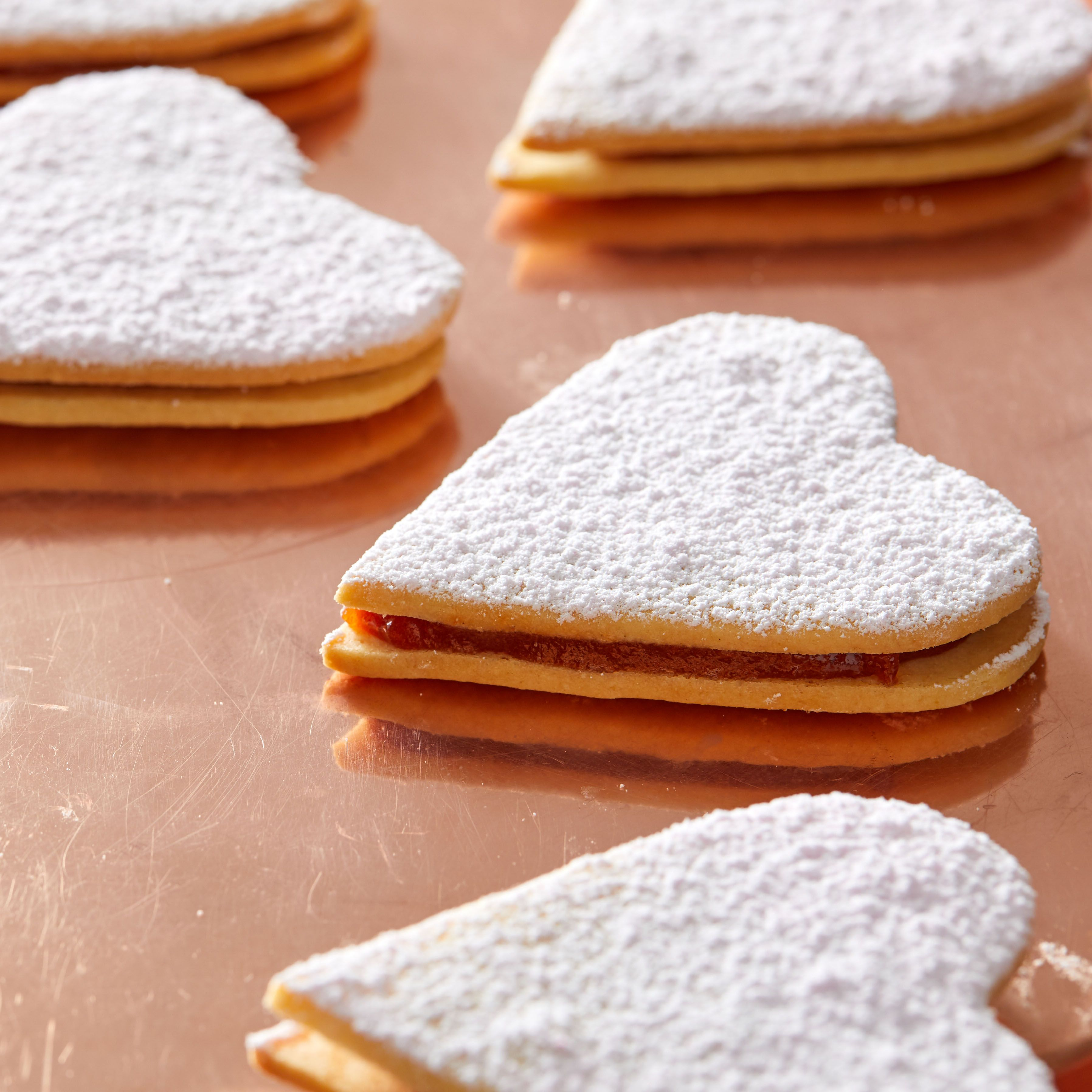 Fall in Love with Martha's Sandwich Heart Cookies in 2020