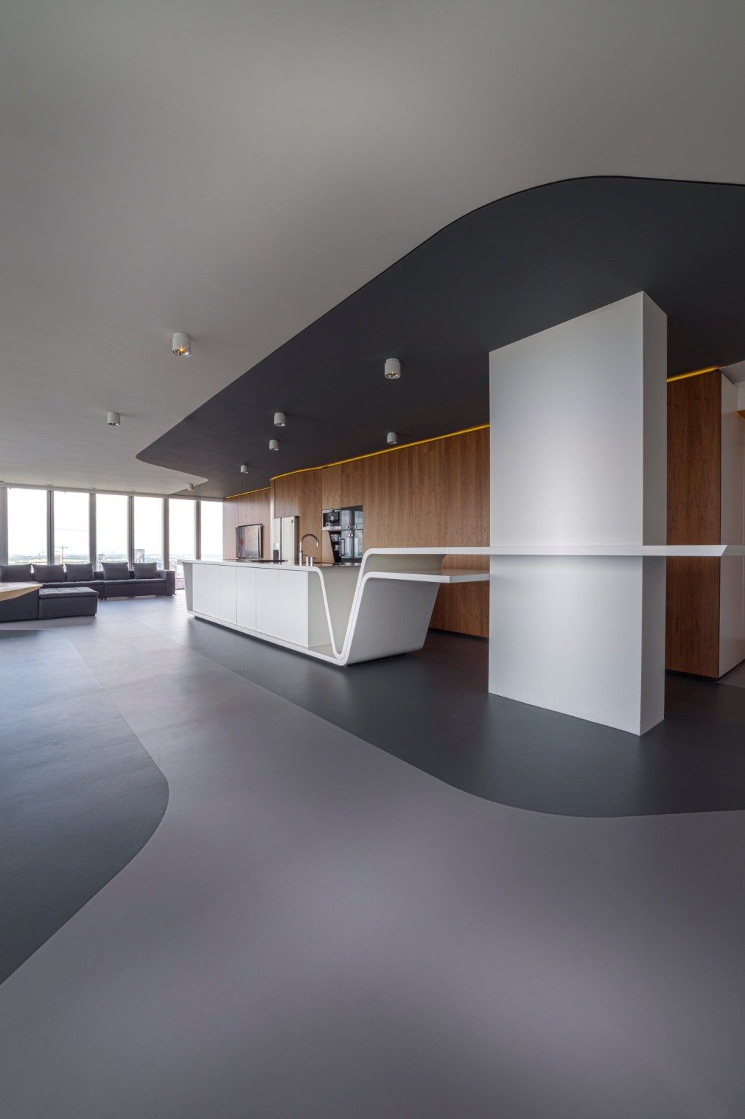 Luxury Penthouse, Interior Design