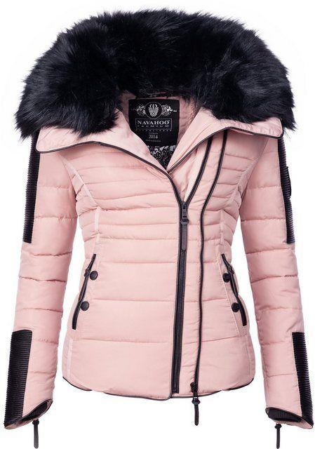 Photo of Navahoo Steppjacke »Yuki2« stylische Winterjacke m. edlem Kunstpelz-Kragen online kaufen | OTTO
