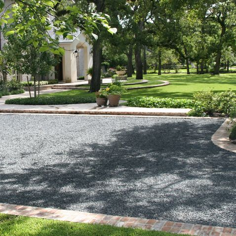 Pea Gravel Driveway Design Ideas Pictures Remodel And Decor
