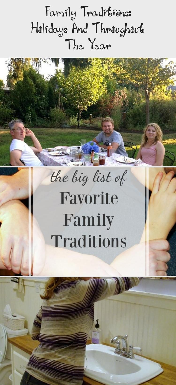 Family Traditions: Holidays And Throughout The Year - KIDS in 2020 | Family traditions, Kids ...