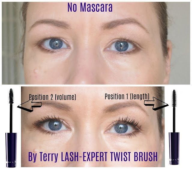 By Terry Lash Expert Twist Brush Mascara Review With Beforeafter