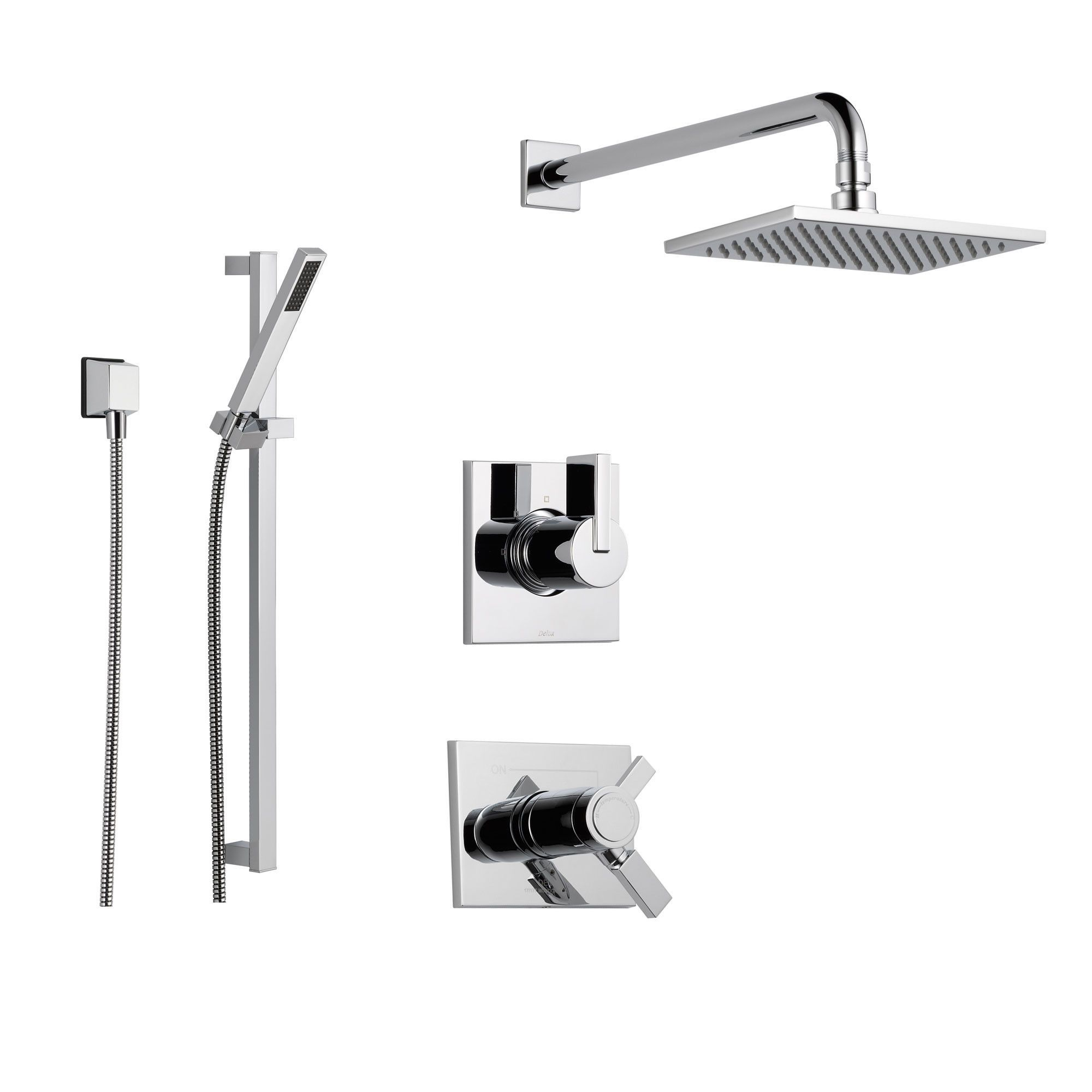 Delta Vero Chrome Shower System With Thermostatic Shower Handle 3