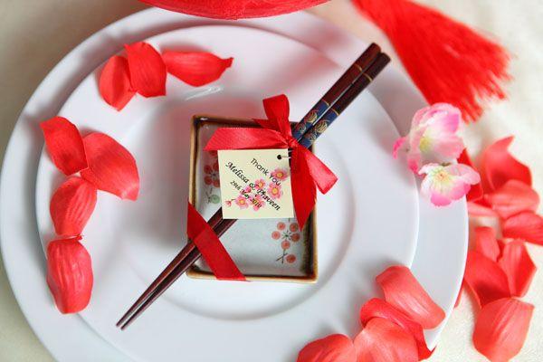 wedding chopsticks favors, chinese wedding favors Malaysia, Singapore