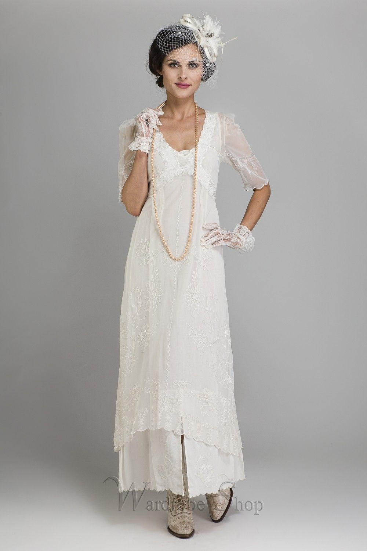New Vintage Titanic Tea Party Dress in Ivory by Nataya | Informal ...