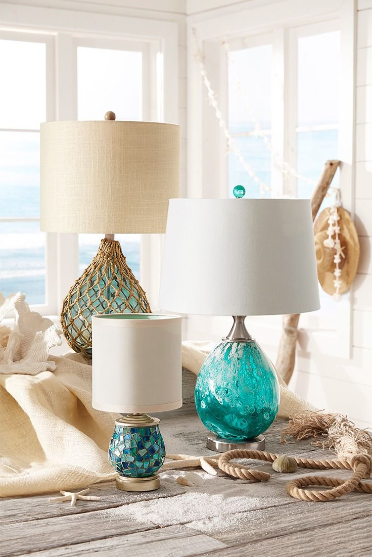 Pier 1's luminous selection of desk lamps and table lamps is ready to light up any surface in your home. With styles from modern to traditional to glam to the coastal look shown here, we know you'll find the right lamp for your desk, side table, buffet and more.