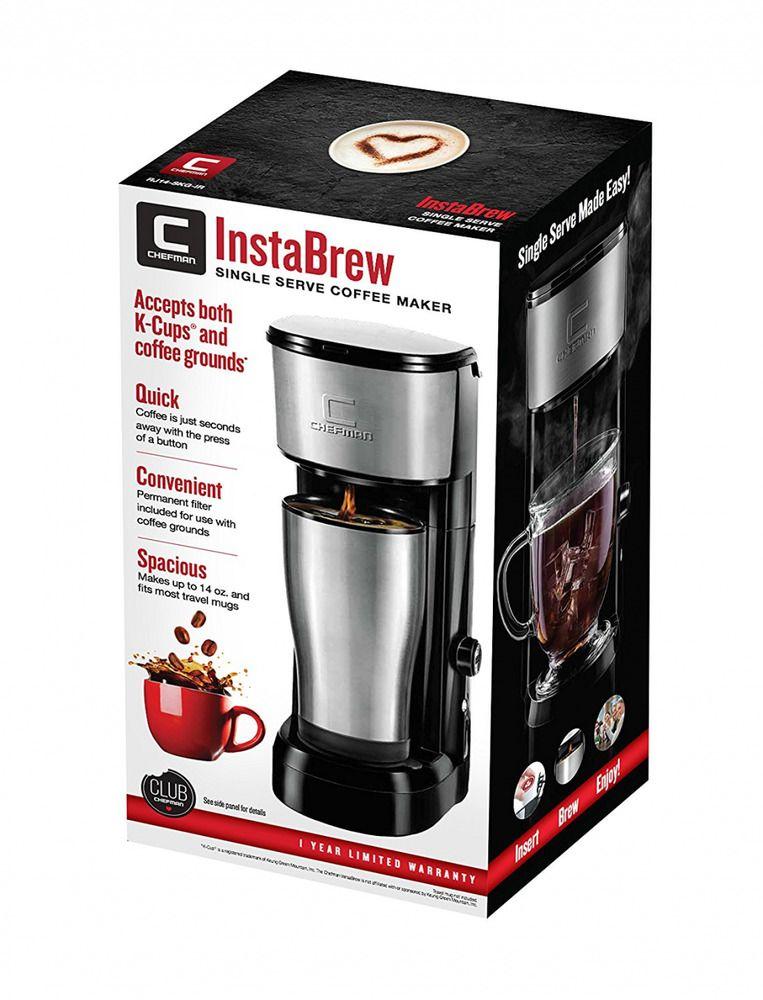 Chefman Coffee Maker K Cup VersaBrew Brewer with included BONUS