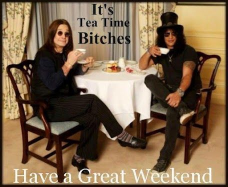 Rock on the weekend!